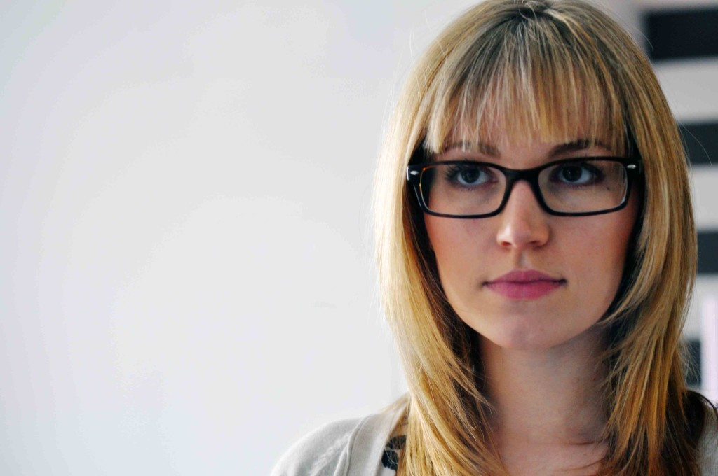 24 Easy To Do Hairstyles With Bangs And Glasses