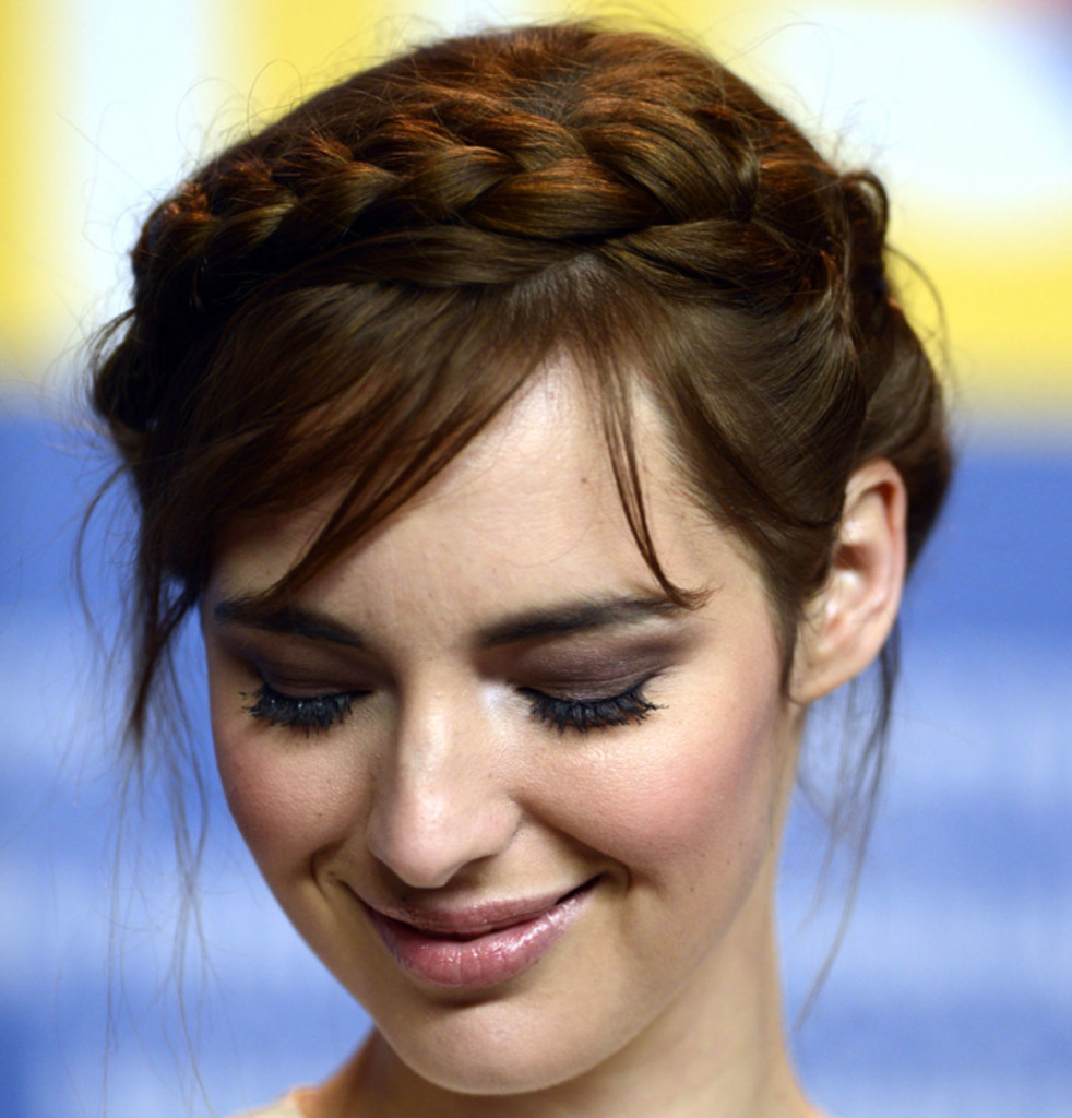 Peachy French Braid Styles With Bangs Braids Short Hairstyles Gunalazisus