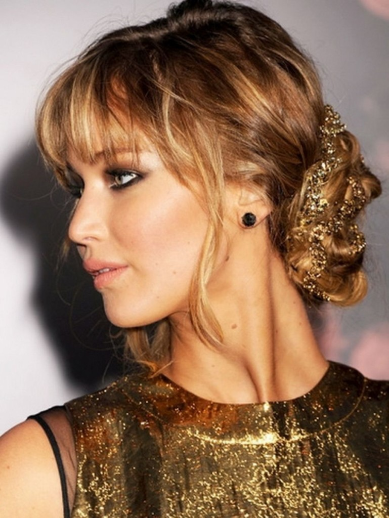 13 best formal hairstyles for medium hair with bangs for perfect