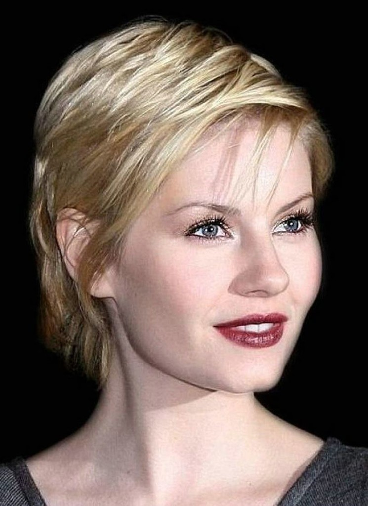 14 The most sensational hairstyles for short thin hair ...