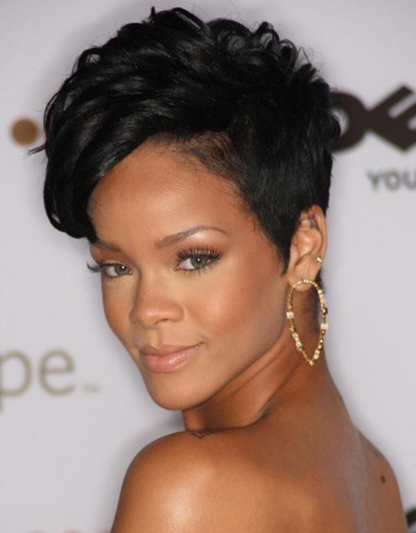Short Natural Curly Black Hairstyles 14
