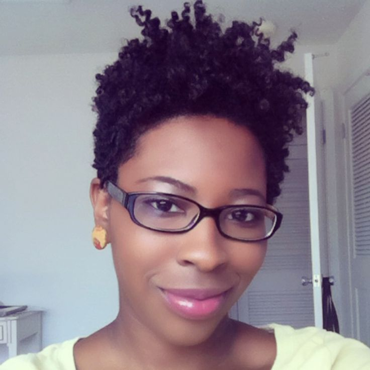 twist out on short hair