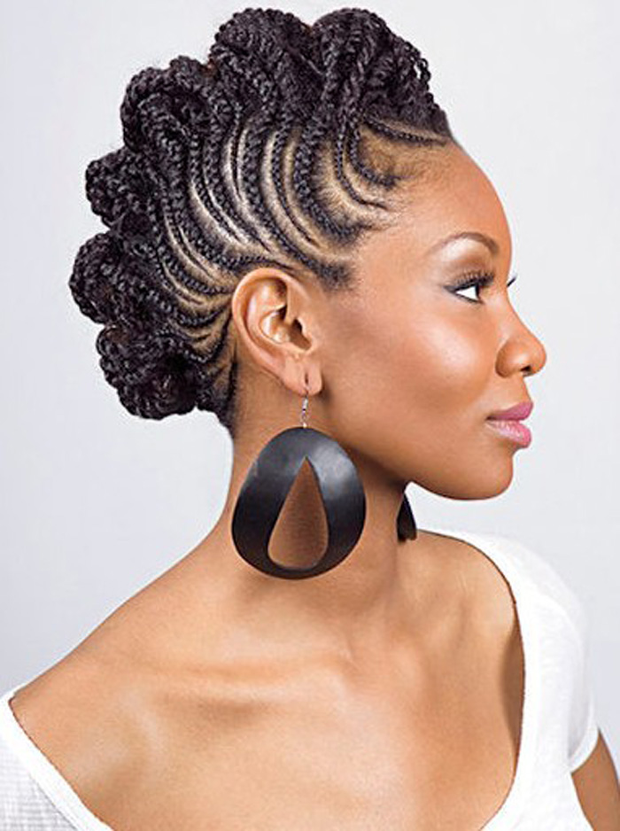 Pleasing 13 Stretch Out Your Hair With Short Natural Updo Hairstyles Short Hairstyles For Black Women Fulllsitofus