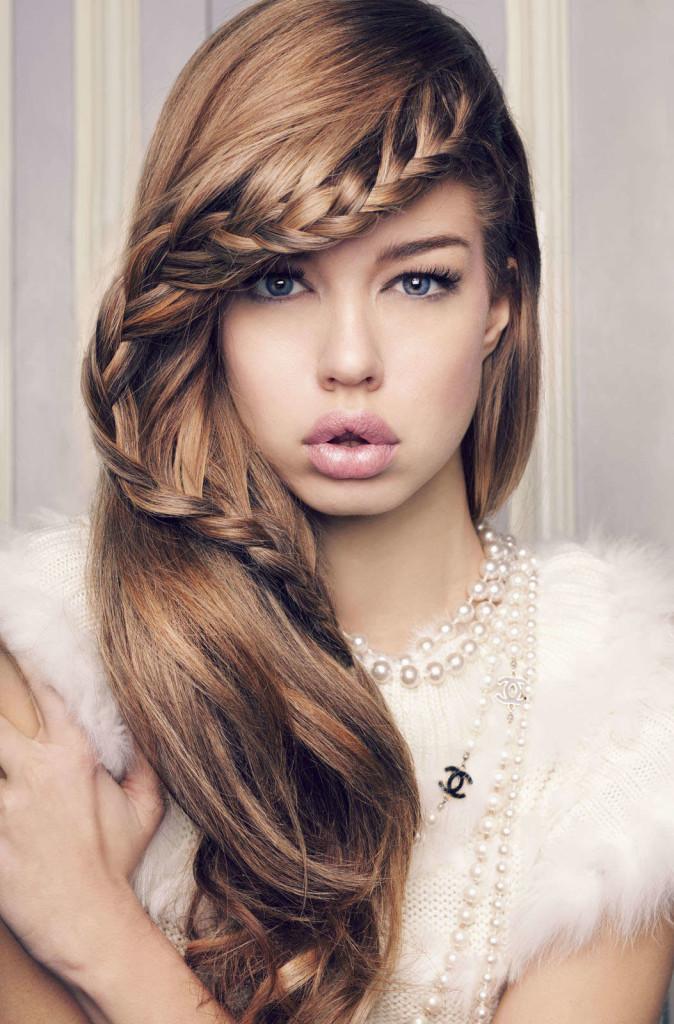 Peachy Simple Braided Hairstyles For Thin Hair Braids Hairstyles For Women Draintrainus