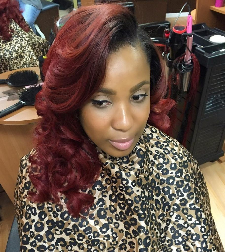 Sew Hot: 40 Gorgeous Sew-In Hairstyles  Hair Nets For Sew Ins