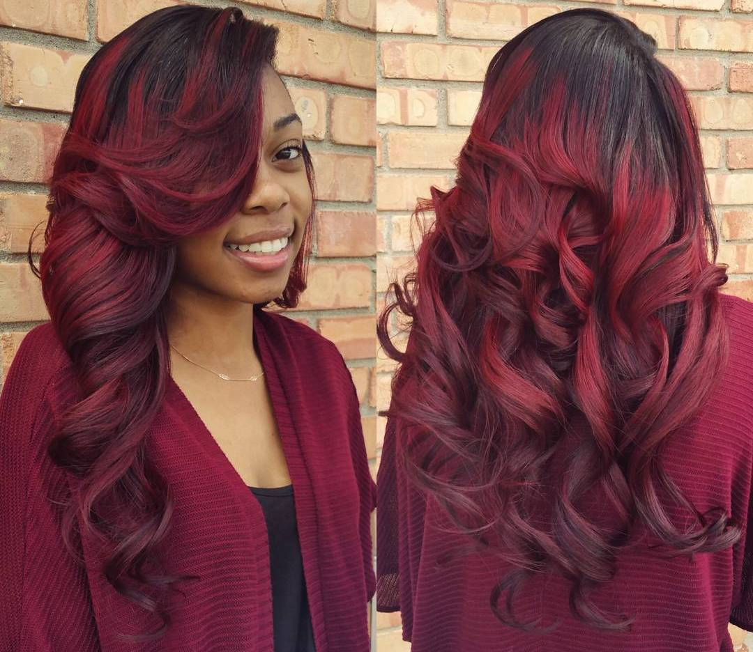 Top 53 Trendy Sew In Hairstyles For Women - HairStyles for ...