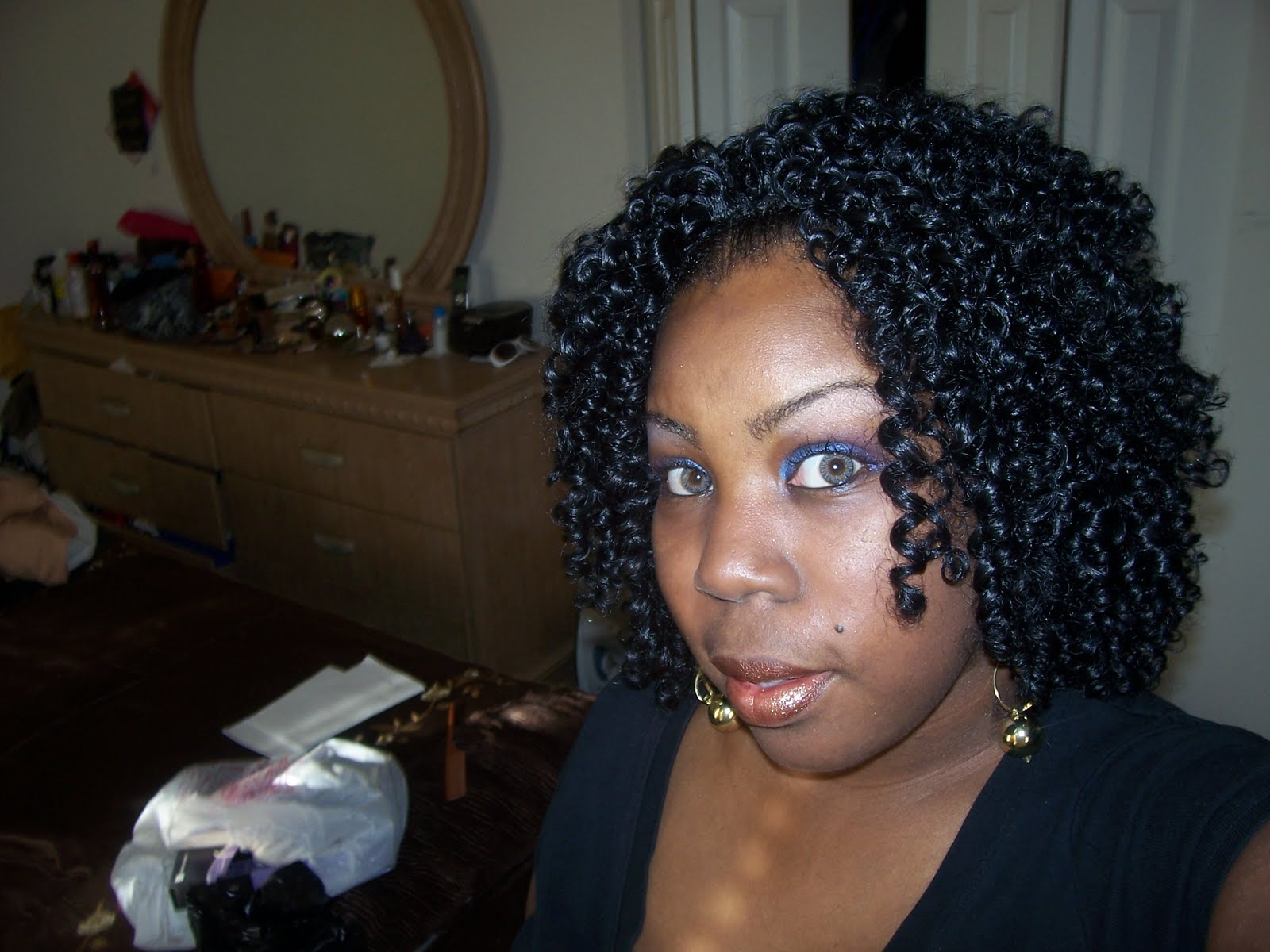 Spiral Curl Weave Hairstyles