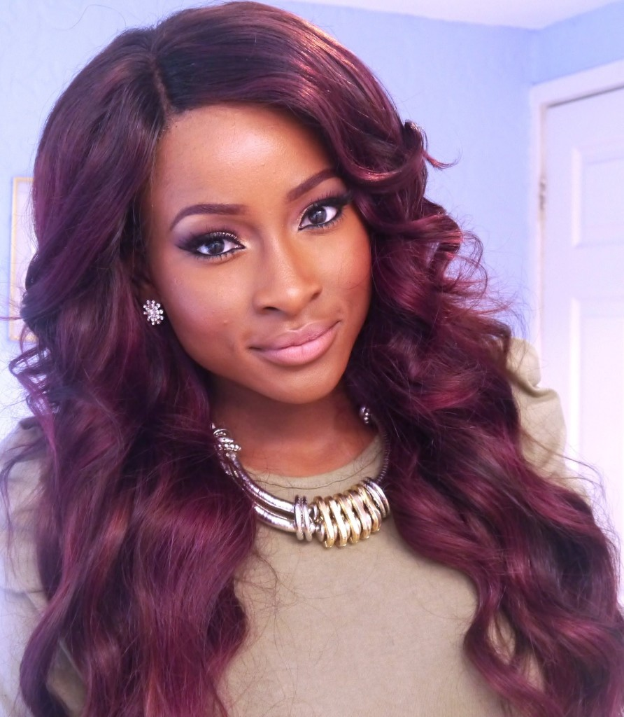 Long Bob Messy Weaves Hairstyle