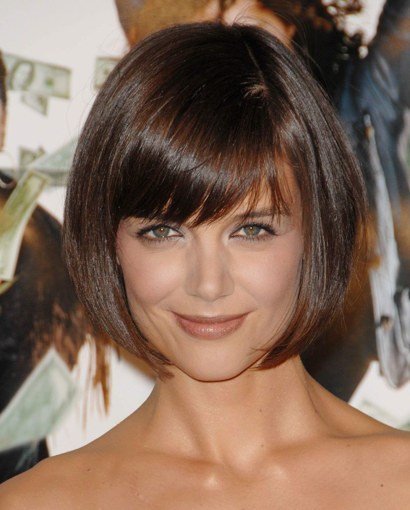 short hairstyles with bangs - 14