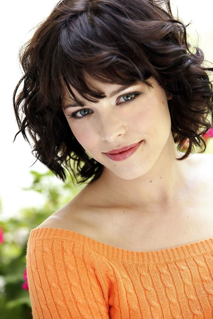 short hairstyles with bangs - 16