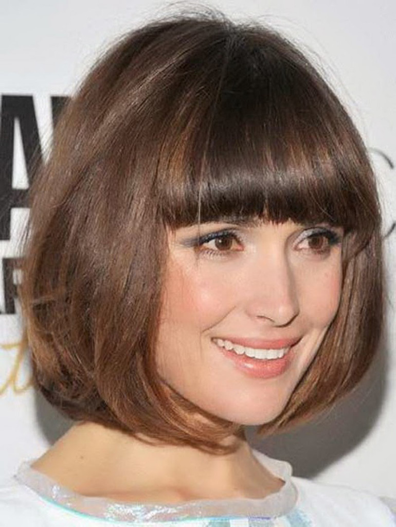 Admirable 22 Bob Hair Styles With Bangs To Grave Lots Of Attention Short Hairstyles Gunalazisus