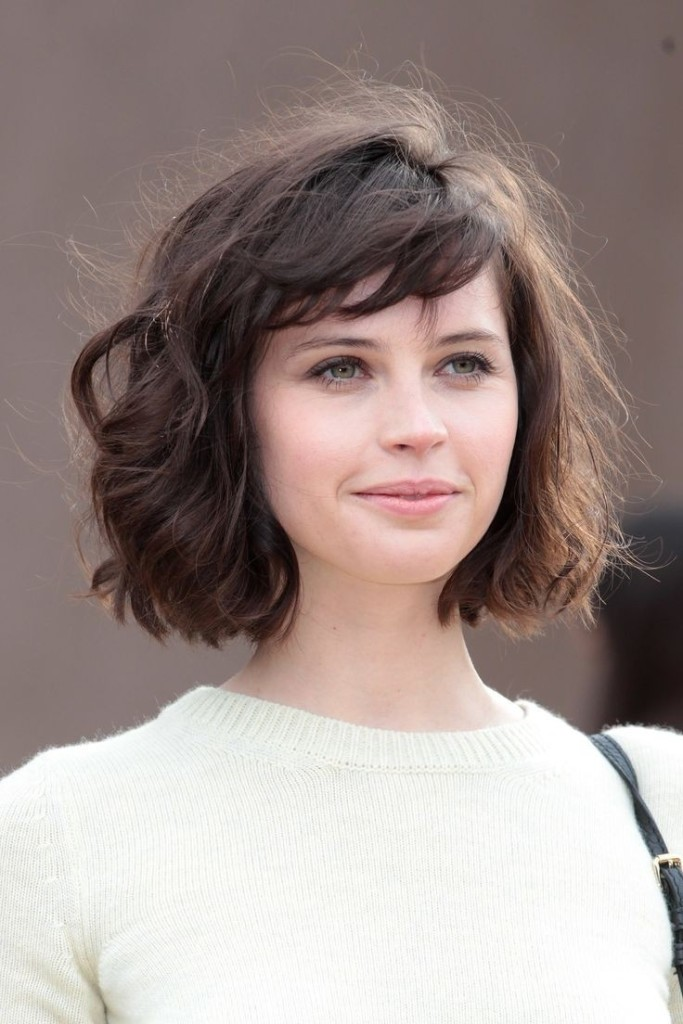 short hairstyles with bangs - 31