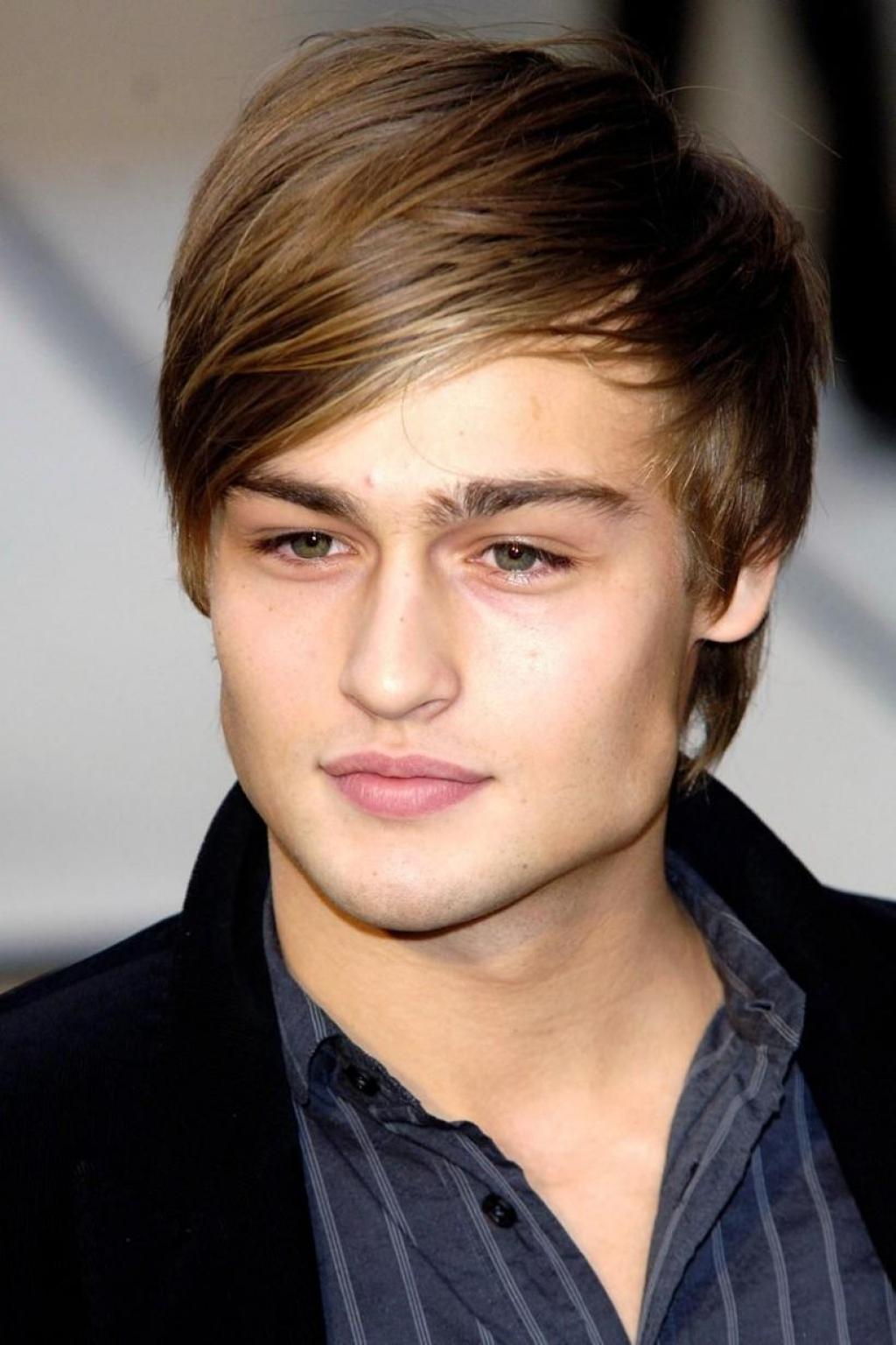 Причёски на длинные волосы с чёлкой фото для мальчиков