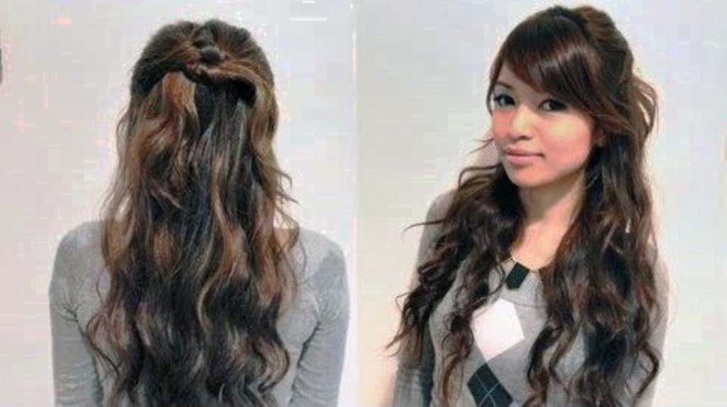 Swell 19 How To Style Long Hair In An Easy And Cute Way Hairstyles For Short Hairstyles Gunalazisus