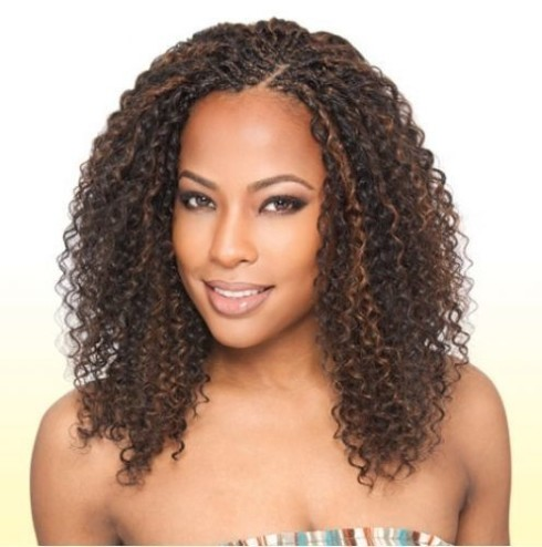 The hair you use for ones crochet braids hairstyles could make or ...