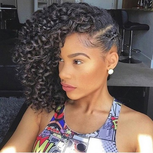 Crochet Braids Updo : HOT: 10 New Ways to Flaunt Crochet Braids with Human Hair