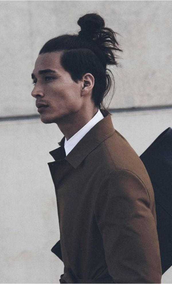Four Asian Men Hairstyles (14)