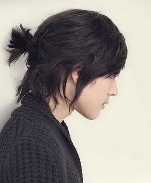 Four Asian Men Hairstyles (15)