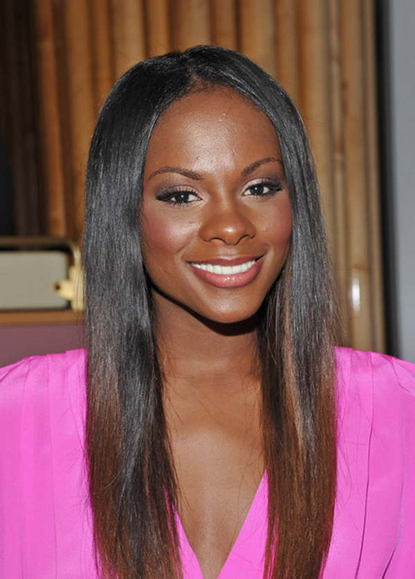 Long Straight Hairstyles for Women 11