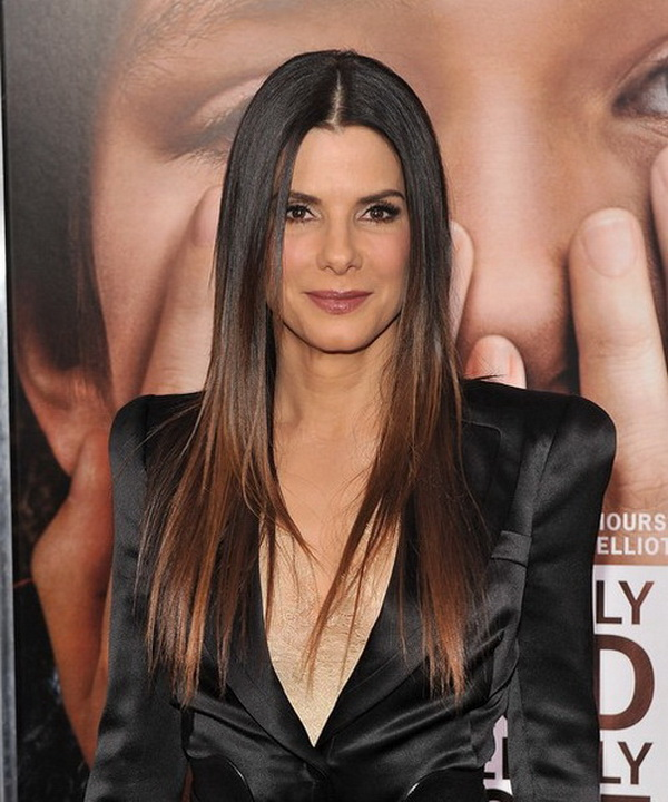 Long Straight Hairstyles for Women 7