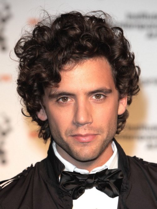 Sexy curly hairstyles for men 1