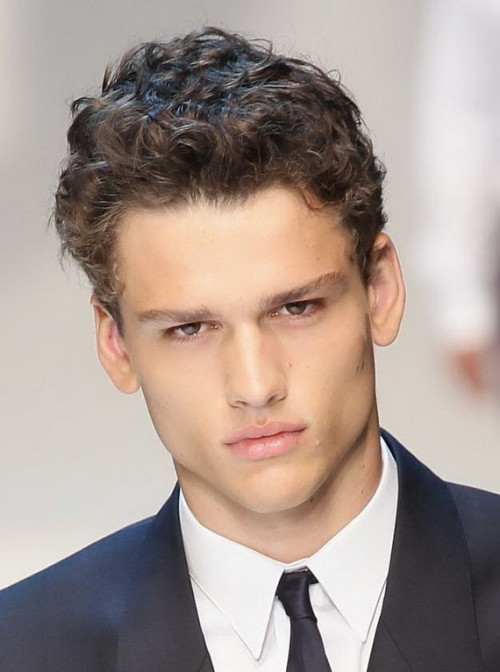 Sexy curly hairstyles for men 2
