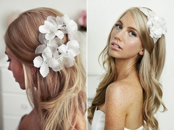 Simple yet stunning creative flower girl hairstyles 10