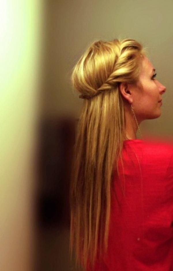 Simple yet stunning creative flower girl hairstyles 2