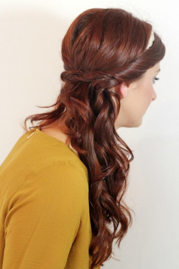Simple yet stunning creative flower girl hairstyles 3
