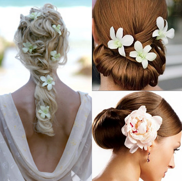 Simple yet stunning creative flower girl hairstyles 8