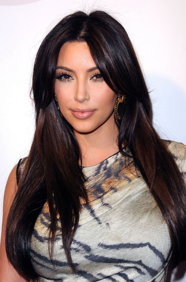 Top 3 Hairstyles by Kim Kardashian (3)