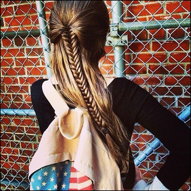 cute hairstyles for school photo - 22