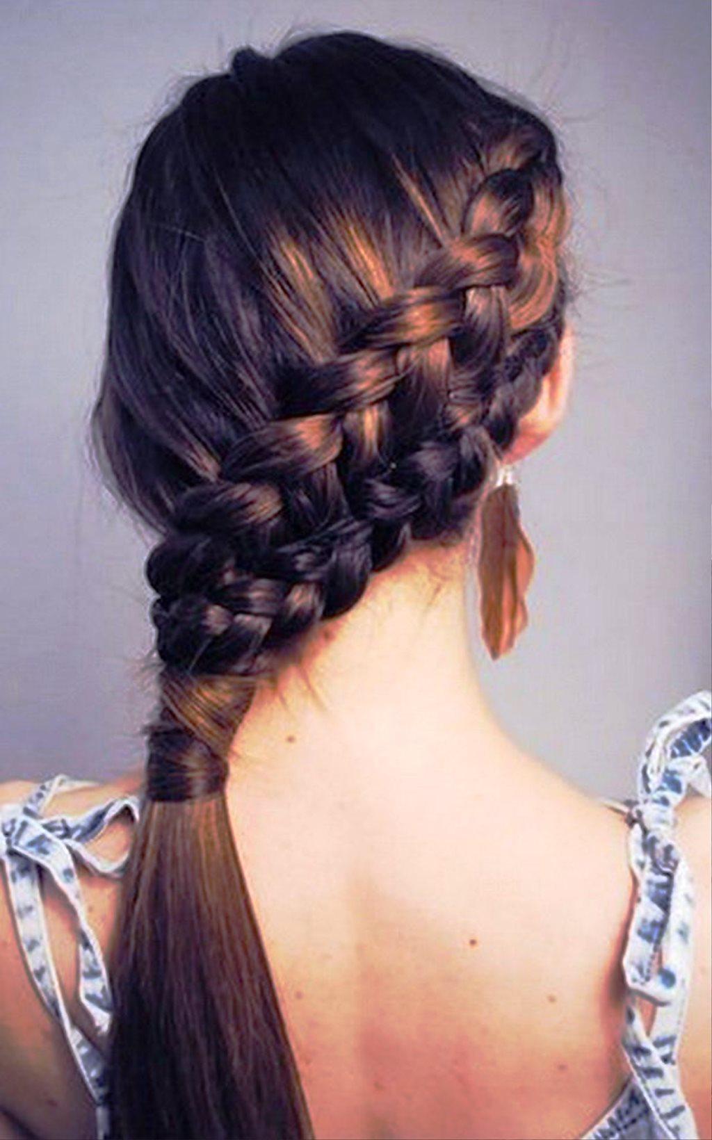 Astounding 20 Beautiful Pretty And Cute Hairstyles For School Hairstyles Hairstyles For Men Maxibearus