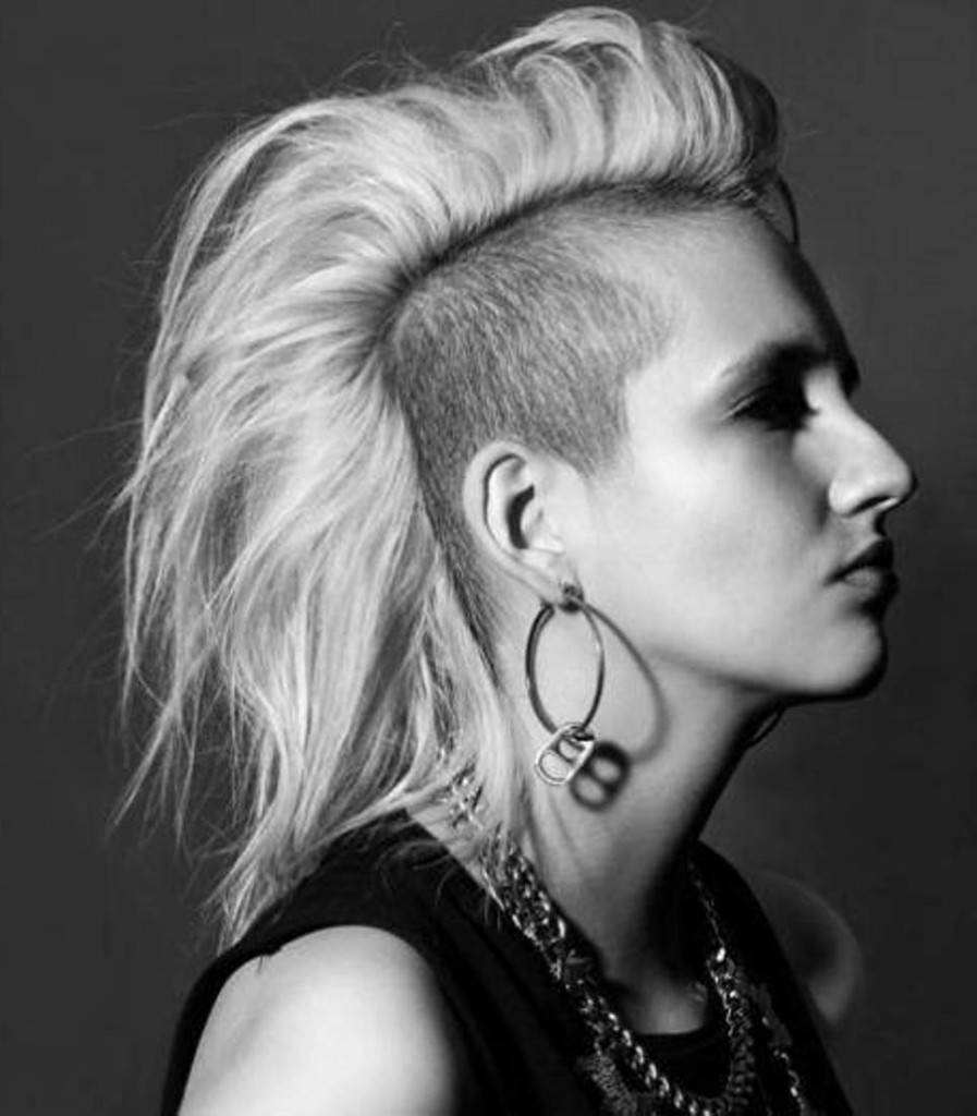21 steal more attention by splashing your punk hairstyle in wild