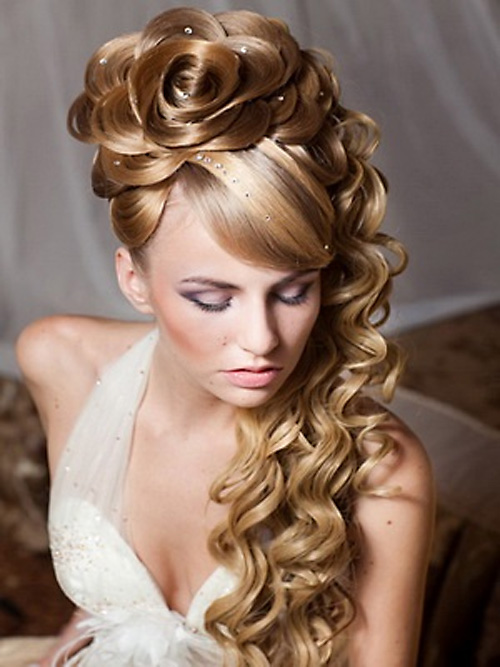 wedding hairstyles for sensational hair 5