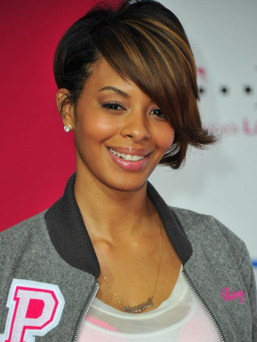 12 Captivating African American Short Hairstyle With Bangs – HairStyles for W