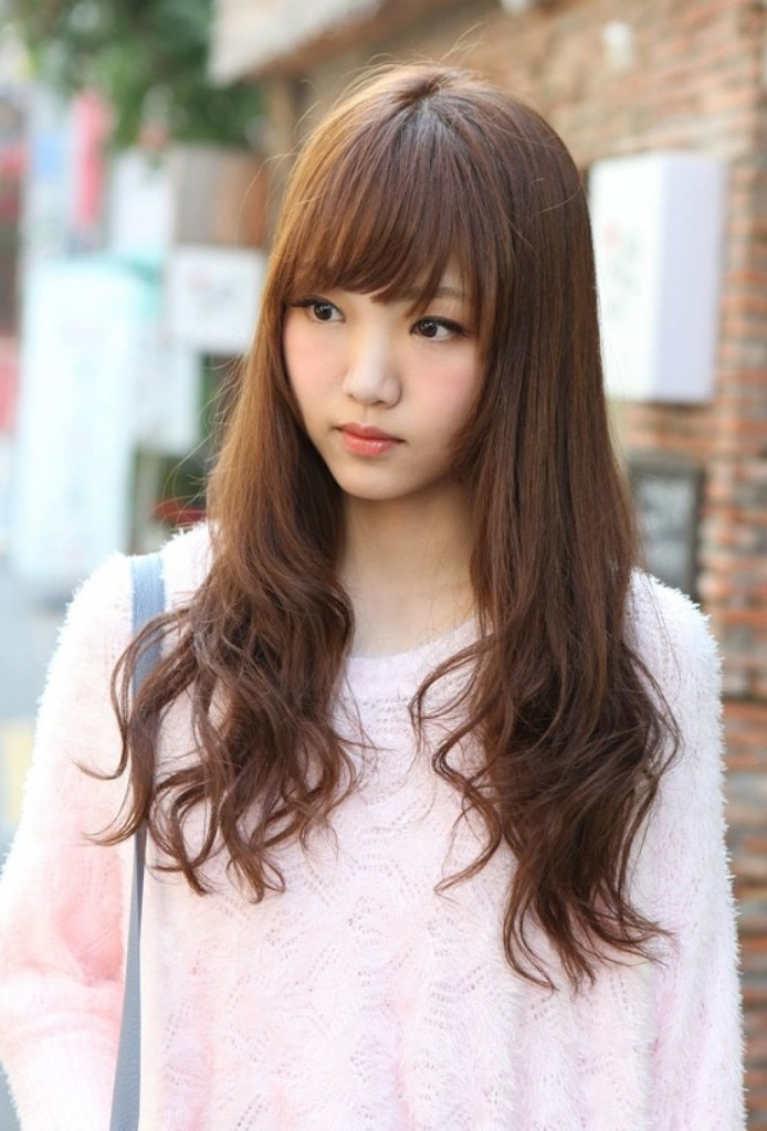 14 Prettiest Asian Hairstyles With Bangs For The Sassy