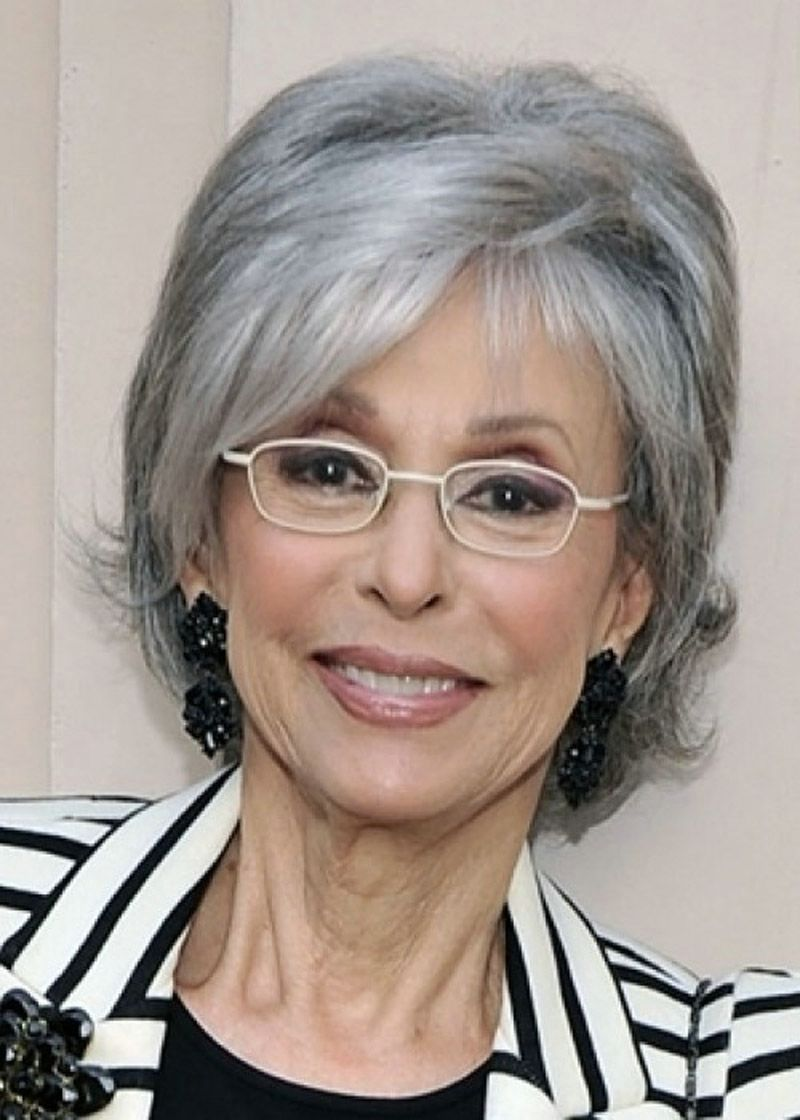 Short Hairstyles For Grey Hair And Glasses , Best Short Hair