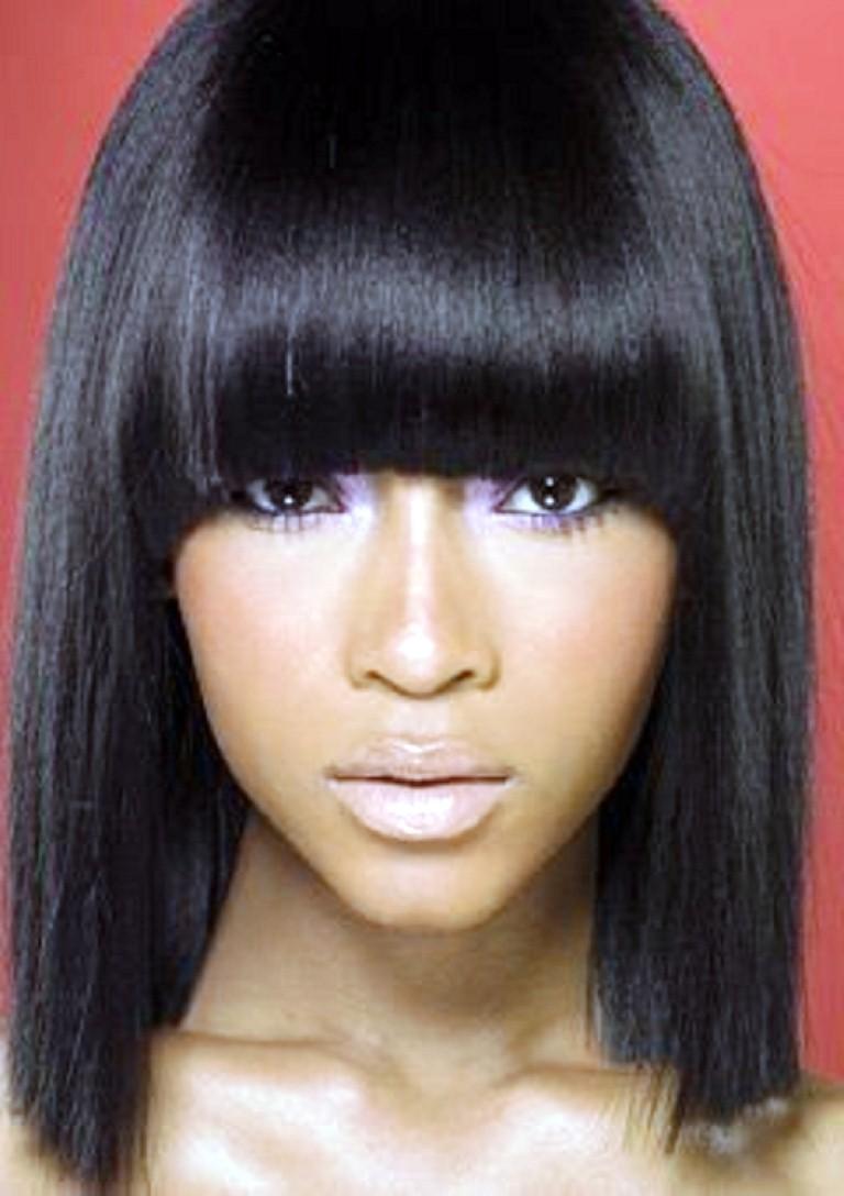 Super Top 9 Fascinating Black Hairstyles With Chinese Bangs Hairstyles Short Hairstyles Gunalazisus