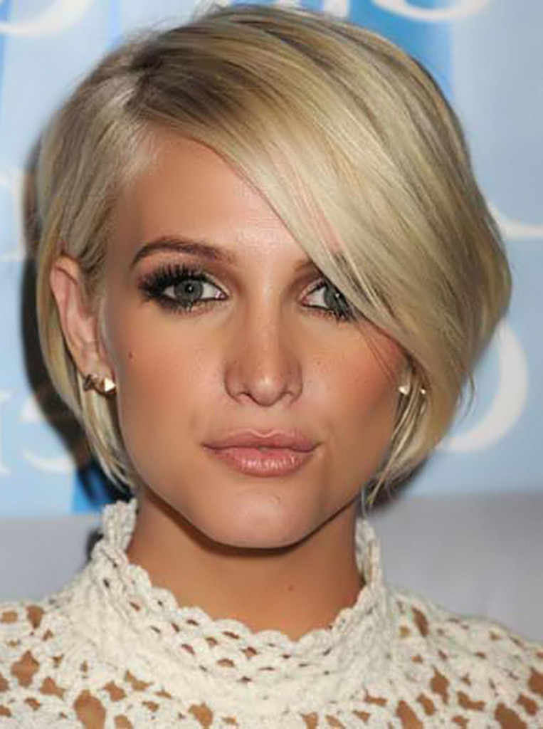 14 Fine thin hair, now even more envied with a Bob hairstyle – HairStyles for Woman