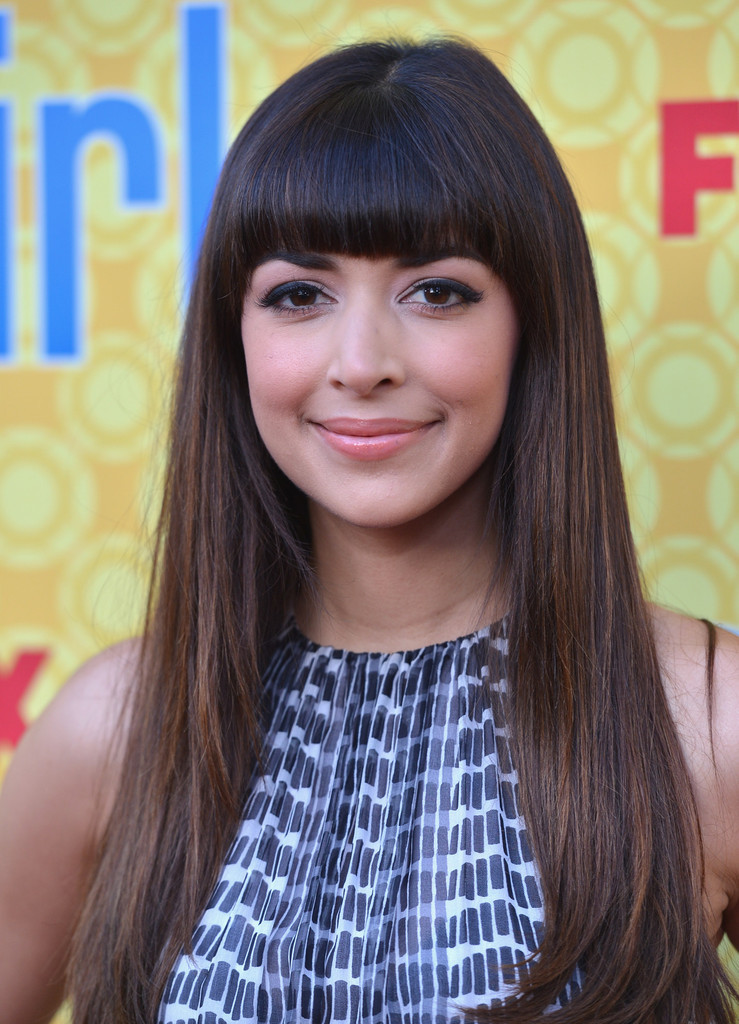 celebrity hairstyles with bangs - 16