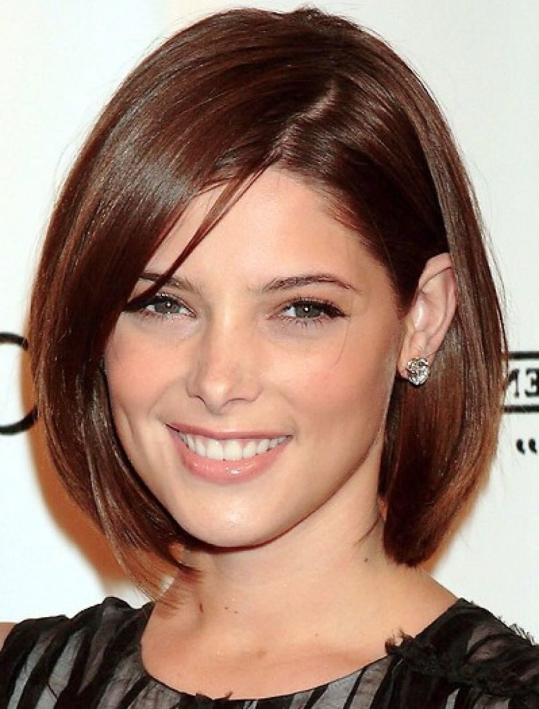 chin length hairstyles with bangs - 11