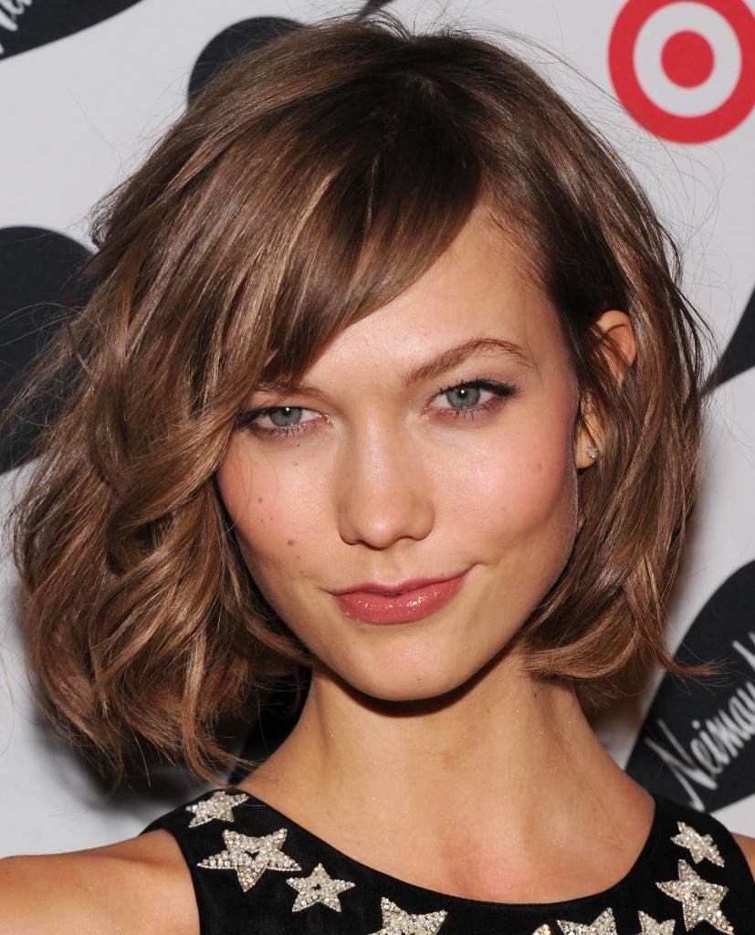 chin length hairstyles with bangs - 14