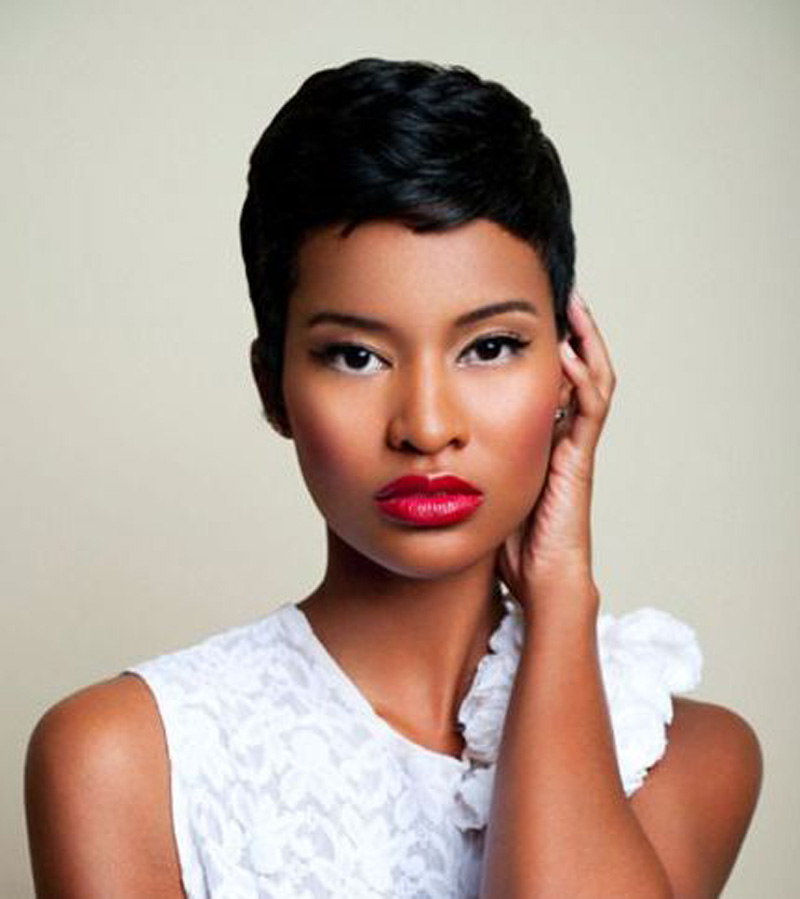 Superb 32 Most Cute Short Hairstyles For Black Women Hairstyles For Woman Hairstyle Inspiration Daily Dogsangcom