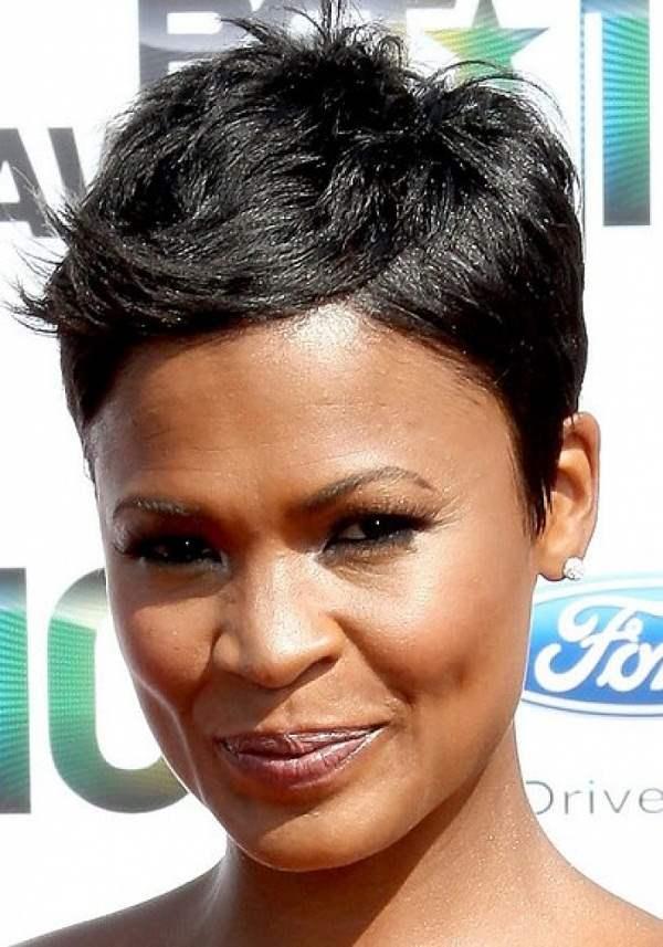 Awe Inspiring 32 Most Cute Short Hairstyles For Black Women Hairstyles For Woman Hairstyles For Women Draintrainus