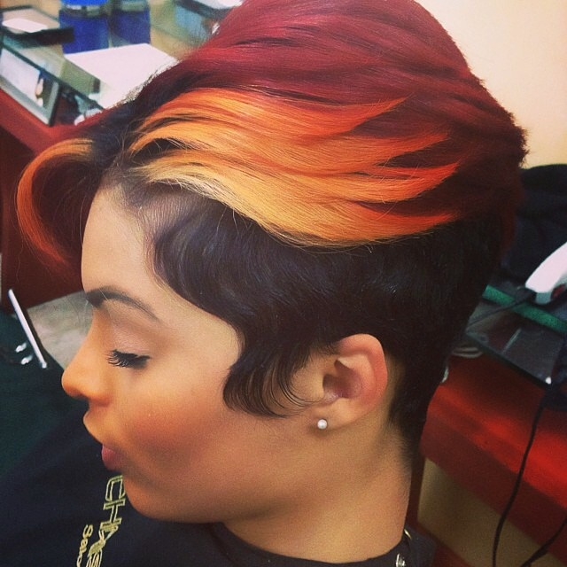 Awesome 32 Most Cute Short Hairstyles For Black Women Hairstyles For Woman Hairstyle Inspiration Daily Dogsangcom