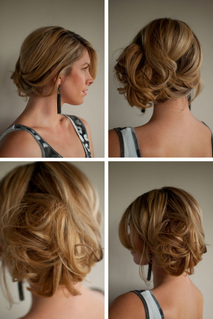 formal hairstyles for thin hair - 21