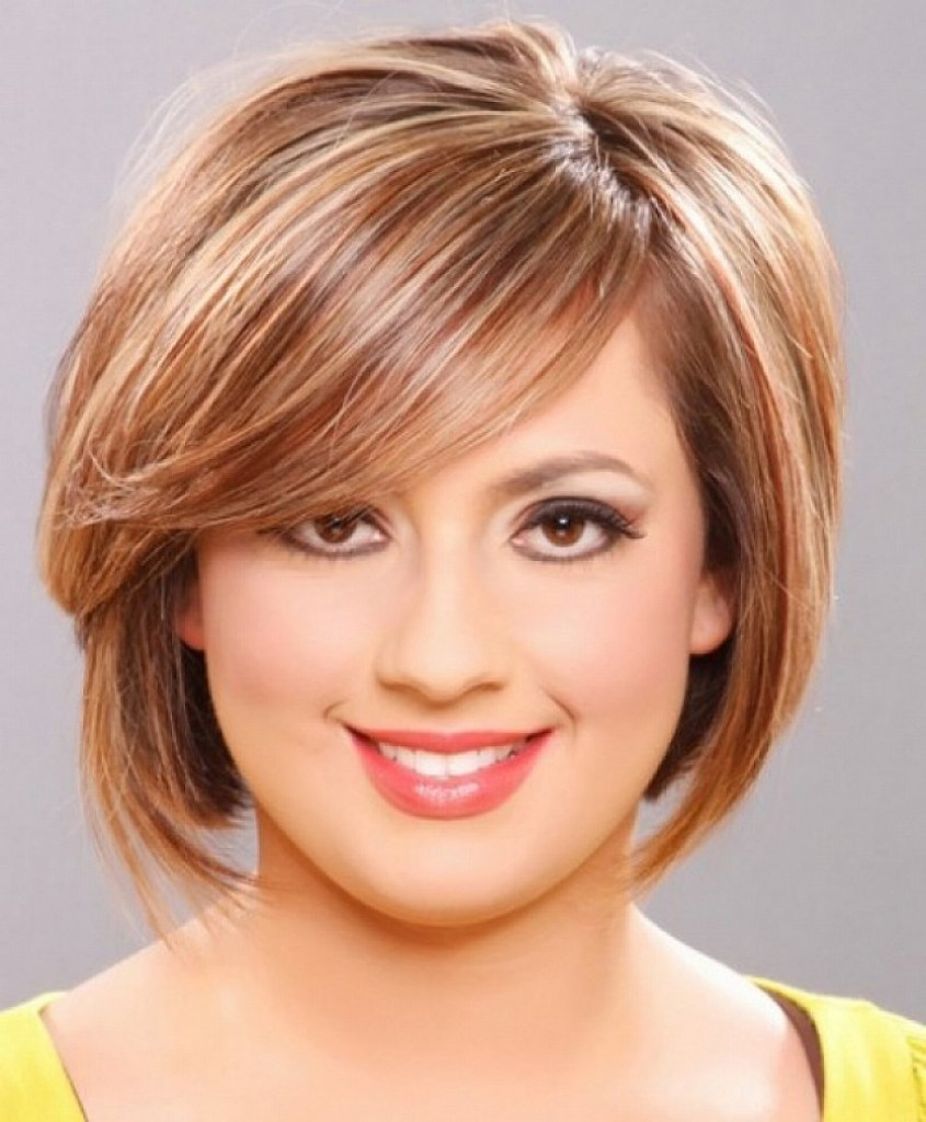 Incredible 8 Outstanding Hairstyles For Round Long And Fat Faces Hairstyles Short Hairstyles Gunalazisus