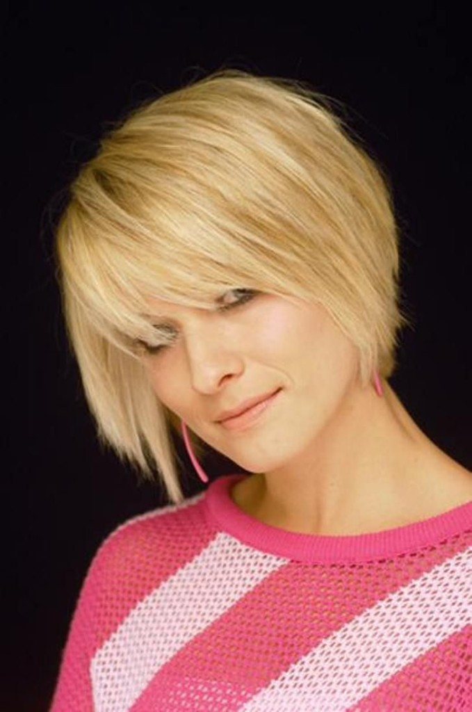 hairstyles for square faces and thin hair photo - 11