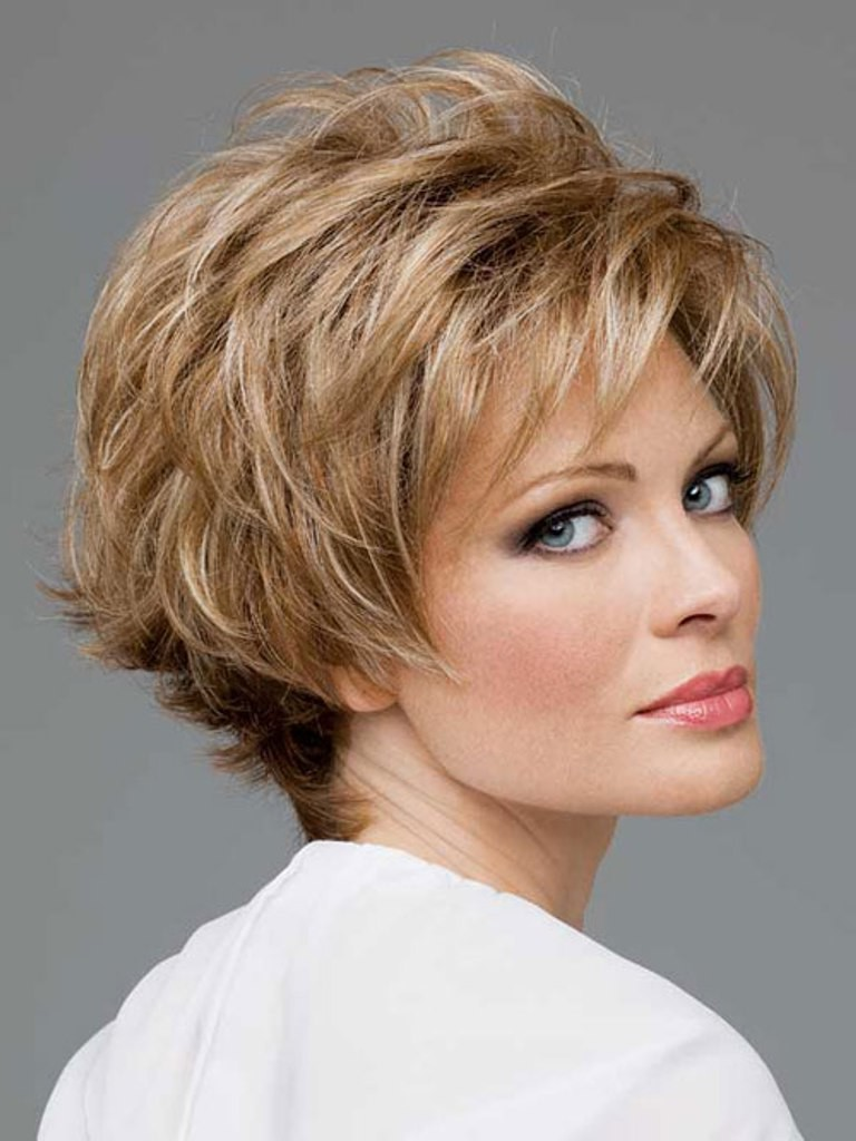 hairstyles for square faces and thin hair photo - 12